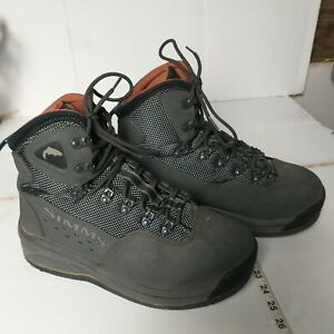Simms Wading Shoes 11 Wading Boots Felt Soles Fishing Shoes River Shoe