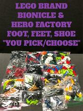 LEGO BIONICLE HERO FACTORY REPLACEMENT PARTS FEET FOOT SHOES CLAWS