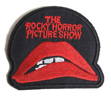 """Rocky Horror Picture Show Lips & Words Logo 3"""" Patch- FREE S&H (RHPA-RH01)"""