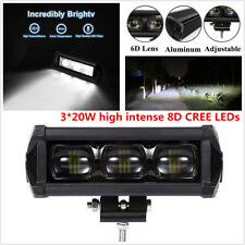 7Inch 60W IP68 Led Light Bar Spot Work Light 4WD 8D ATV Off-road Driving Lamp