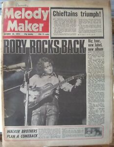 Melody Maker Oct 18th '75 - Rory Gallagher Van Der Graaf Generator Dr. Feelgood