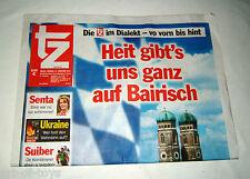 tz auf bairisch vom Freidog, 21. Februar 2014 - zum Tag des Dialekts, Kuriosität