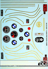 1/6 BMW R90S REPLACEMENT DECAL for TAMIYA