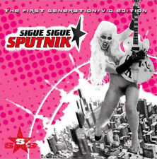 Sigue Sigue Sputnik 'The First Generation - Vid Edition' enhanced CD new sealed