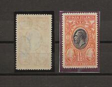 CAYMAN ISLANDS 1935 SG 99 Var MINT