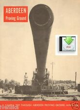 CD Booklet Aberdeen Proving Ground Maryland PDF 36 pages