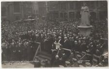 Proclamation of King George V, Reading, Berkshire May10th 1910 Real Photo Postca