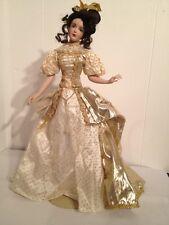 Franklin Heirloom Mint MARIGOLD Midas Touch 19 Porcelain Doll golden Princess