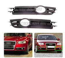 For Audi A6 Sedan Quattro 2005 2006 2007 2008 Fog Lamp Light Grille Cover Trim