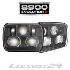 """JW Speaker 8900 Evolution 2 Set LED Scheinwerfer 5x7"""" Schwarz E-geprüft neu"""