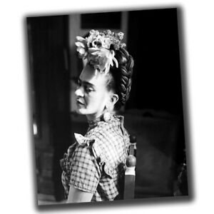 Frida Kahlo FINE ART Celebrities Vintage Retro Photo Glossy Big Size 8X10in W033