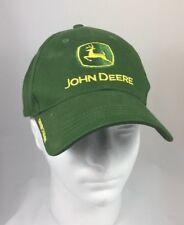John Deere Owners Edition Green Baseball Hat Cap Adjustable Strapback