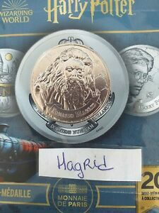 Mini Médaille Harry Potter Monnaie de Paris 2021 Rubeus Hagrid