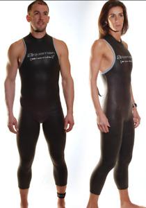 AquaMan Bionik Sleeveless Triathlon Wetsuit Unisex  2XL