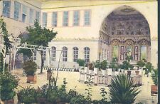 SYRIA Damas Stambouli house 1910s PC