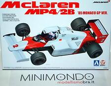 KIT F1 TAG MCLAREN MP4/2B 1985 MONACO GP LAUDA PROST 1/20 AOSHIMA 08191 081914
