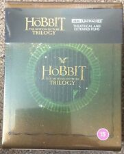 The Hobbit Trilogy box set 4K UHD Steelbook-Rare OOP/UK Seller