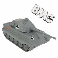 BMC WWII GERMAN KING TIGER TANK 1/32 SCALE FOR PLASTIC TOY SOLDIERS FREE SHIP