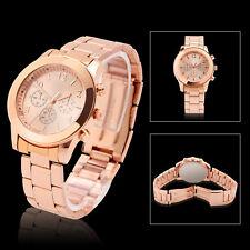 Charming Crystal Diamond Stainless Steel Ladies Women Girl Quartz Wrist Watch