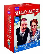 'ALLO 'ALLO COMPLETE DVD COLLECTION BOX SET NEW SERIES SEASONS 1-9