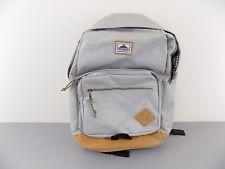 STEVE MADDEN $90 Gray Backpack MEN 100% AUTH BAG SCHOOL WORK TRAVEL SALE Y12
