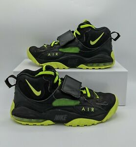 Nike Air Max Speed Turf Black/Neon Green Volt Size 9 Shoes Rare (525225-003)