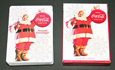 Coca-Cola Playing Cards 2008 Christmas / Coke / US Playing Card Company - New!