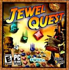Jewel Quest Game (2008, PC CD-ROM) puzzles maze exotic jungle sounds test skills