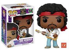Funko Pop! Rocks Jimi Hendrix #54 NIB cZ