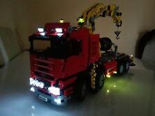 LED Light Kit ONLY For 8258 Crane Truck Technic