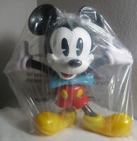 "NIP Disney Parks Plastic Mickey Mouse figurine 10 1/2"""