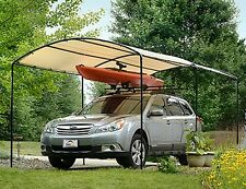Car Canopy Shed Storage Outdoor Portable Garden Building Yard Utility Metal 9x16