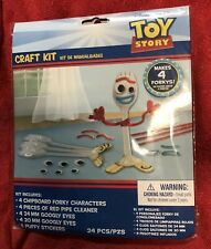 TOY STORY 4 **FORKY** MAKE YOUR OWN - 4 Pack Of Forky - 24 Piece