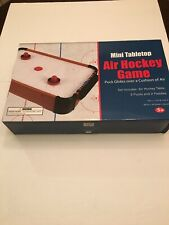"""20"""" Mini Air Powered Hockey Table Top Game Battery Operated"""