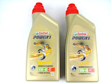 2liter Castrol Power1 10w40 4t Aceite De Motor Motocicleta 10w-40 4-takt HC