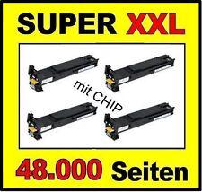 4x Toner for Konica Minolta Magicolor 7400 7450/8938621 8938622 8938623 8938624