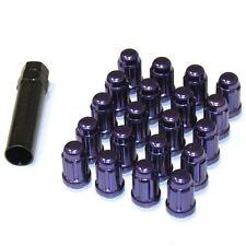 MUTEKI SPLINE CLOSE-END LUG NUT NUTS 12x1.25 FOR SUBARU/SCION FRS PURPLE