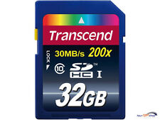 TRANSCEND 32gb SDHC Class 10 scheda 200x CARD 32 GB 30 MB/s T 32 GSDHC 10 SD HC