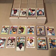 Complete Your 1979 TOPPS FOOTBALL SET EXMT/NRMT/MINT Pick 25 Point LOT