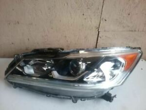 Driver Headlight Market Sedan LED US Built Fits 16-17 ACCORD 24360