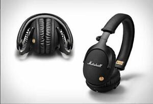 Marshall Monitor Bluetooth Genuin Wireless Headphones Headset Bass Mic Studio