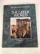 The Greek World - Peter Levi (1992, Hardcover, Dust Jacket)