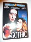 Gothic DVD psychological thriller movie Gabriel Byrne as Lord Byron!