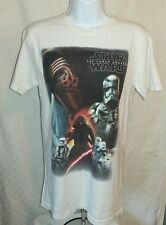 Primark Star Wars The Force Awakens White T-Shirt Pyjama Top XS Excellent Cond
