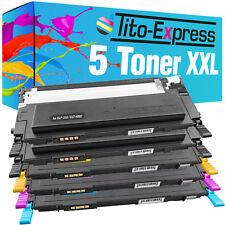 5 toner para Samsung clp-310 n clp-315 n clp-315w clx-3170 n clx-3175 fn clt-4092