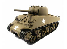 RC Panzer M4A3 Sherman RTR Vollmetall Mato 2,4Ghz 360° Turm Sound BB Rohrrückzug