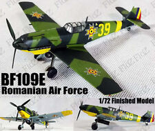WWII BF109 E  Me 109 Romanian Air Force 1/72 finished plane Easy model