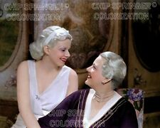 JEAN HARLOW & MOTHER #2 8X10 BEAUTIFUL COLOR PHOTO BY CHIP SPRINGER