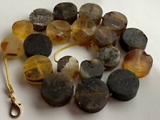 Natural Vintage Amber Beads Antique Baltic Old Necklace 97,62  gr