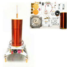 Music Tesla Coil Plasma Speaker Wireless Transmission sound Solid +Power DIY kit